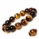 Salable Jewelry Making Yellow Tiger Eye Spacer Loose Round Beads Gemstone Beads