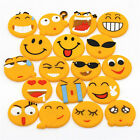 Cute Emoji Cartoon Expression Fridge Magnet Decor Whiteboard Note Message Holder