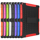 ColorShockproof Hybrid Silicone Protective Cover Case Hard For iPad2/3/4/6 Mini4