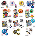 4D Metal Master Beyblade Top Rapidity Fight Launcher Grip Toy Collections Set