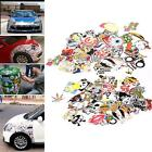 Popular 10/100/200/300pcs Car Sticker Decal Car Skate Skateboard Laptop Luggage