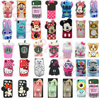3D Cartoon Disney Silicone Rubber Soft Case Cover for HTC 626 LG G4 Stylo G530UK