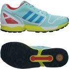 Adidas ZX FLUX men's running shoes blue/red/yellow jogging shoes trainers NEW