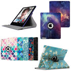 Apple iPad 2/3/4 Rotating Leather Case with Auto Wake/Sleep Smart Cover