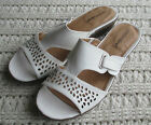 New Leather Slip-On Mules Slides Comfortview Cosette Easy On Color/Size Choice