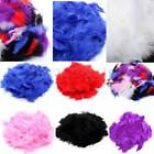 200X Fluffy Soft Feathers Card Mixed Assorted Colors Marabou Embellishments DIY