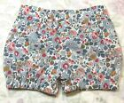 Girls 12-18 Mths Liberty Cotton Handmade Bloomer Pants/Bubble Shorts/Nappy Cover