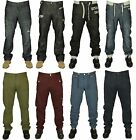 MENS BRAND NEW ENZO JEANS IN BLACK COATED STONE WASH COLOURS STRAIGHT RRP £39.99