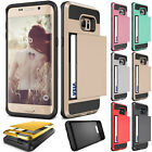 Wallet Hybrid Rubber Hard Back Case Cover For Samsung Galaxy Grand 2 3 G530 G360