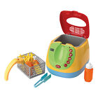 Playgo MY DEEP FRYER (Includes Play Food) ~NEW~