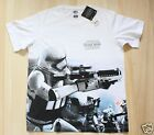 UNIQLO STAR WARS Men Short Sleeve 00 White T-shirt from Japan NWT