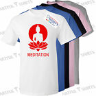 Buddhist meditation Kids T Shirt New Cotton crew neck tee shirts Size 5 13 years