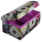 Tri-Coastal Design Paper Dome Jewelry Box Mirror Organizer Tray Kids Girls Women