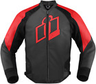 Icon Hypersport Jacket Motorcycle Red Leather