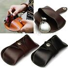 Vintage Handmade Genuine Leather Sunglasses Case Magnetic Spectacles Box Pouch