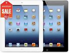 Apple iPad 4th WiFi Tablet RETINA | Black or White | 16GB 32GB 64GB 128GB (R-D)