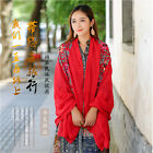 Fashion woman embroider national wind Cotton Scarf Beach Scarves Sunscreen scarf