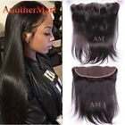13*4 Ear to Ear Full Frontal Lace Closure 7A Indian Virgin Human Hair Weave P810