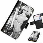RIHA09 RIHANNA PRINTED LEATHER WALLET/FLIP PHONE CASE COVER FOR ALL MODELS