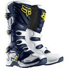 Fox Racing Comp 5Y SE YOUTH MX Boots White/Yellow