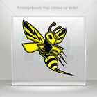 Decals Decal Bee, Hornet, Wasp, Vespa Fighter Vehicle  mtv XWZE2