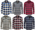 Mens Jachs 9oz Cotton Flannel Check Shirt | Work | Casual | Long Sleeve