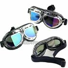 US SELLER Steampunk Goggles  Scooter Pilot Cosplay Eyewear Goggle ATV Motorcycle
