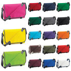 New BAGBASE Travel Messenger Shoulder Bag in 22 Colours One Size