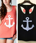 Popular Womens Grils Casual Chiffon Vest Bow Tops Tank Sleeveless Shirt Blouse
