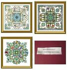 Chatelaine Mandala Cross Stitch Larger CHART Pack- Your Choice-Martina Weber Ros