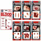 Tinsley Trasferibili 3D Scars Ferite Hollywood Film Quality Halloween FX Make Up