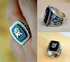 Hot The Vampire Diaries Silver Plated Jeremy Resurrection Ring Cosplay Props
