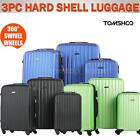 3Pcs Luggage Set Suitcase Spinner Trolley 4 Wheels Carry ons Travel Bag Case 6B4