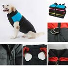 Small/Large Waterproof Pet Dog Puppy Coat Jacket Winter Quilted Padded Puffer
