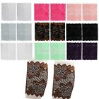 Fashion Women Stretch Boot Leg Warmers Lace Cuffs Toppers Socks Soft Lace Socks