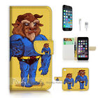 ( For iPhone 7 Plus ) Wallet Case Cover P2832 Cartoon