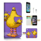 ( For iPhone 7 Plus ) Wallet Case Cover P2833 Cartoon