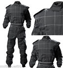 Proban RACE SUIT BLACK Autograss Ninja Stockkart Oval Junior Sizes Fireproof