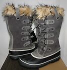 Sorel Women's Joan of Arctic waterproof boots Shale Grey New With Box!
