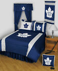 Toronto Maple Leafs Comforter Sham and Bedskirt Twin Full Queen King Size