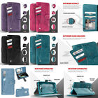 Slide Out Pocket Wallet Pouch with Card Pocket and Stand Cover Phone Case LG K10
