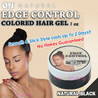 Внешний вид - [ON NATURAL] Colored Edge Control Hair Gel 1 oz. [Natural Black]