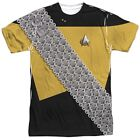 Star Trek Worf Klingon Costume Outfit Uniform Sublimation Allover Front T-shirt on eBay