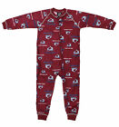 NHL Toddlers Colorado Avalanche Full Zip Raglan Logo Print Coverall, Maroon on eBay
