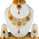 Jewelry Style CZ Diamante Royal Touch Necklace Earrings Sets