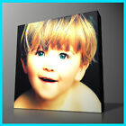 YOUR PHOTO ON CANVAS FRAMED IN 10X10 - 40X40""
