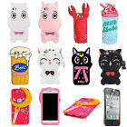 For iPhone Stylish Silicone Cartoon Sailor Moon Protective Bumper Case Cover