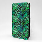 Jungle Leaves Print Design Pattern Flip Case Cover For Sony Xperia - P856