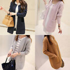 New Women Casual Long Sleeve Knitted Cardigan Sweaters Tricotado Cardigan EW