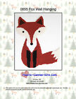 Fox Wall Hanging-Plastic Canvas Pattern or Kit